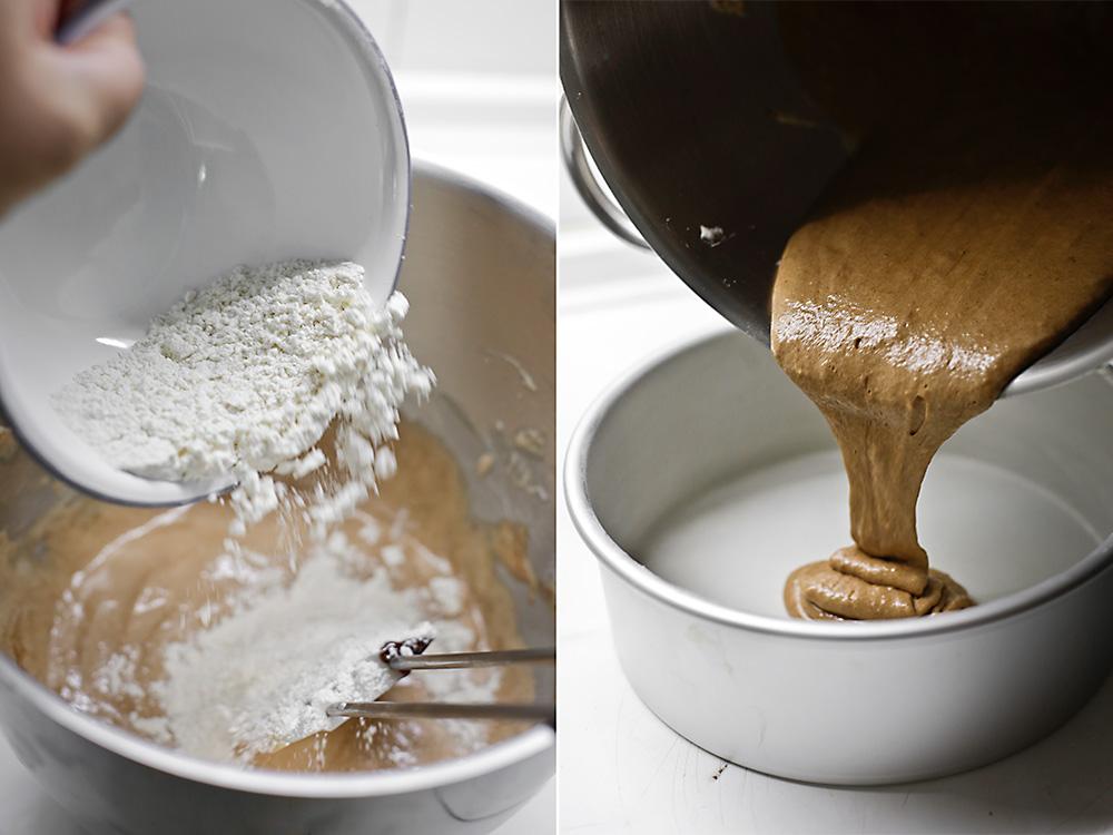 Receta de tarta doble chocolate con Maltesers 6