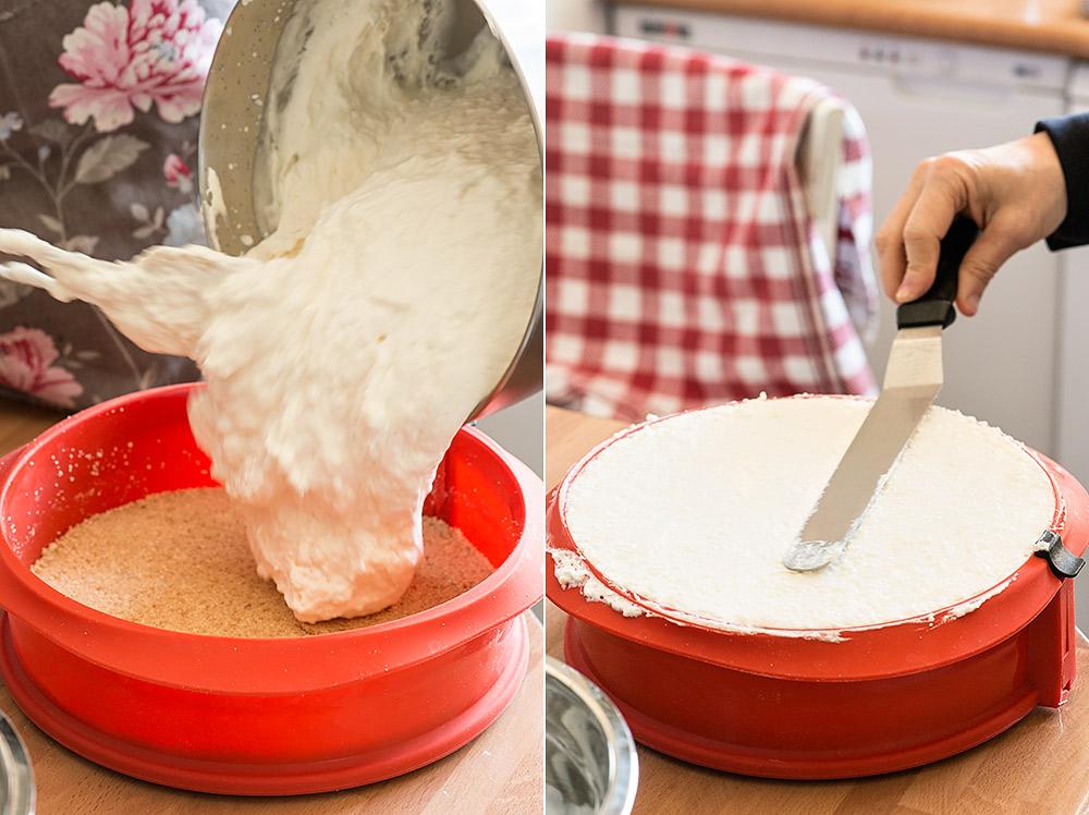 receta tarta mousse leche merengada