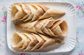 Cómo hacer conos o cucuruchos caseros para helado