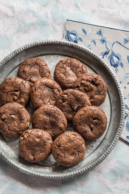 receta cookies nutella