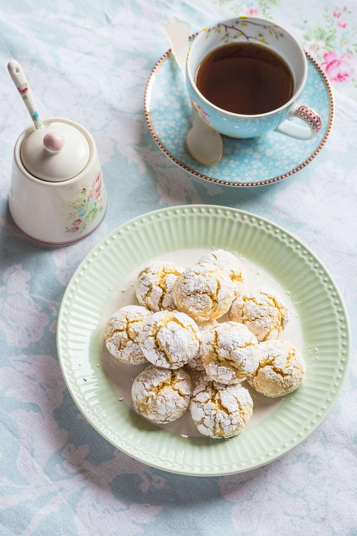 receta galletas limon craqueladas
