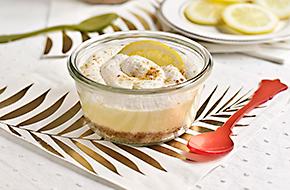 Cheesecake de limón en vasito