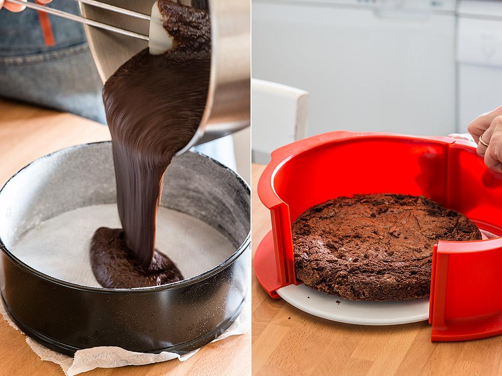 receta tarta helada brownie