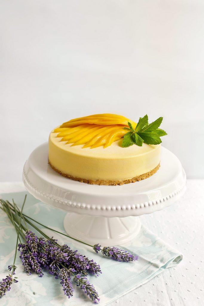 Receta de tarta helada de mango 1