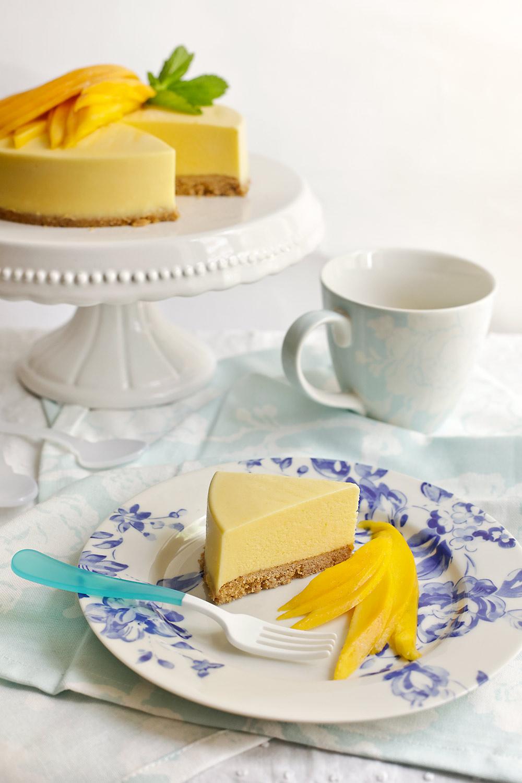 Receta de tarta helada de mango 2