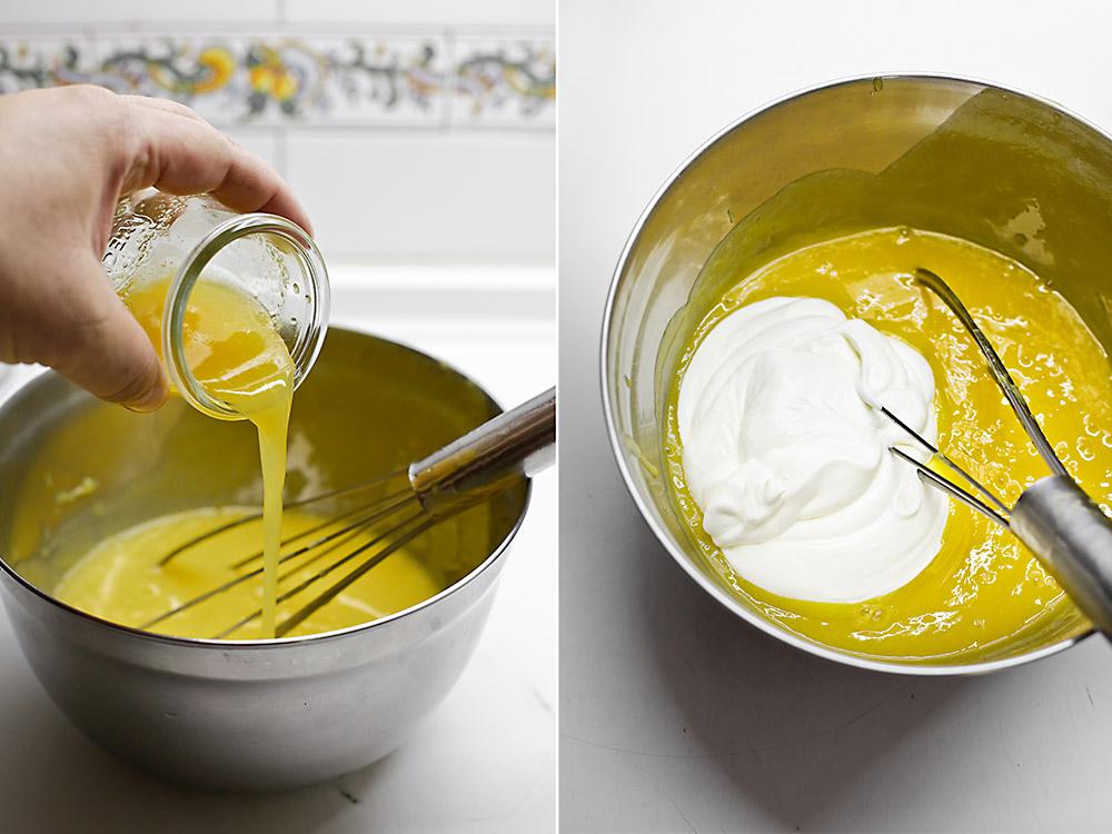 Receta de tarta helada de mango 5