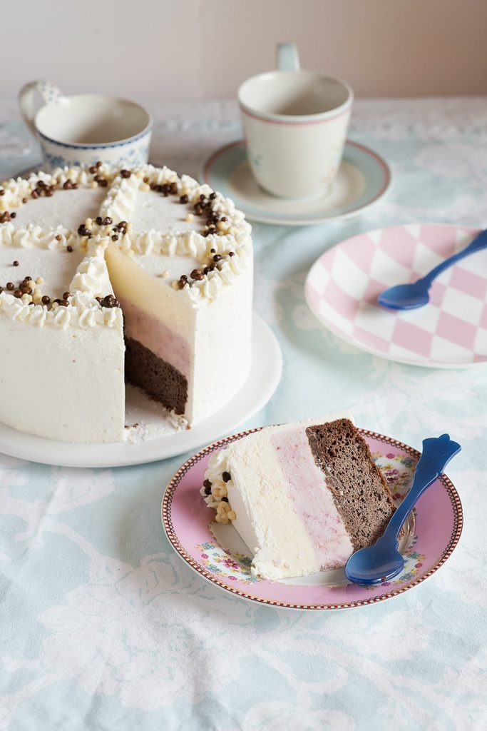 receta tarta helada napolitana