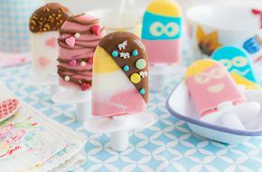 Vídeo-receta: Polos con heladera Zoku