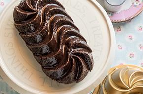 Bundt cake de chocolate y crema agria