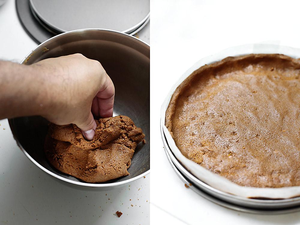 Receta tarta de caramelo con chocolate y sal 4