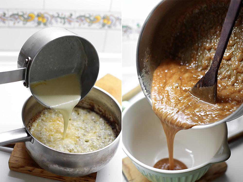 Receta tarta de caramelo con chocolate y sal 6