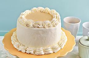Layer Cake de mousse de limón