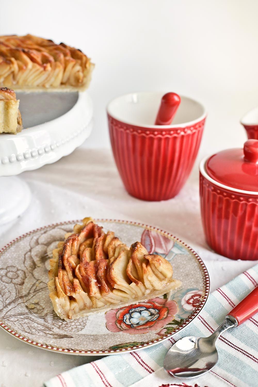 Receta tarta rosa de manzana 2