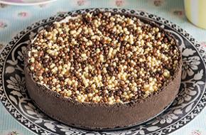 Cheesecake de Nutella y Oreo sin horno