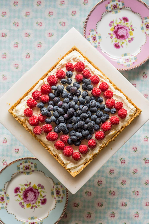 receta tarta limon mascarpone