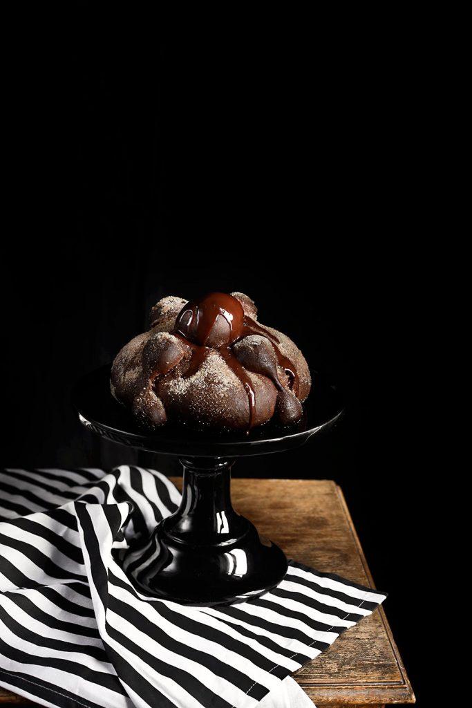 Receta pan de muerto de chocolate 1