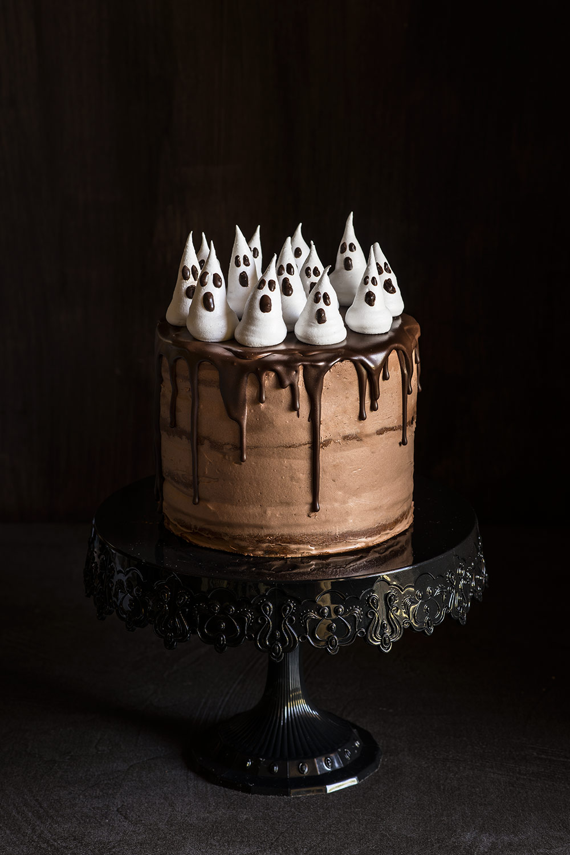 receta tarta calabaza chocolate halloween