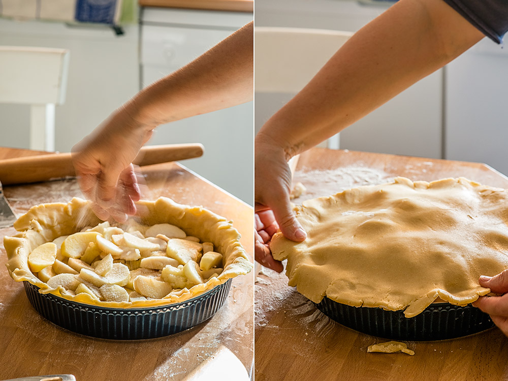 receta apple pie