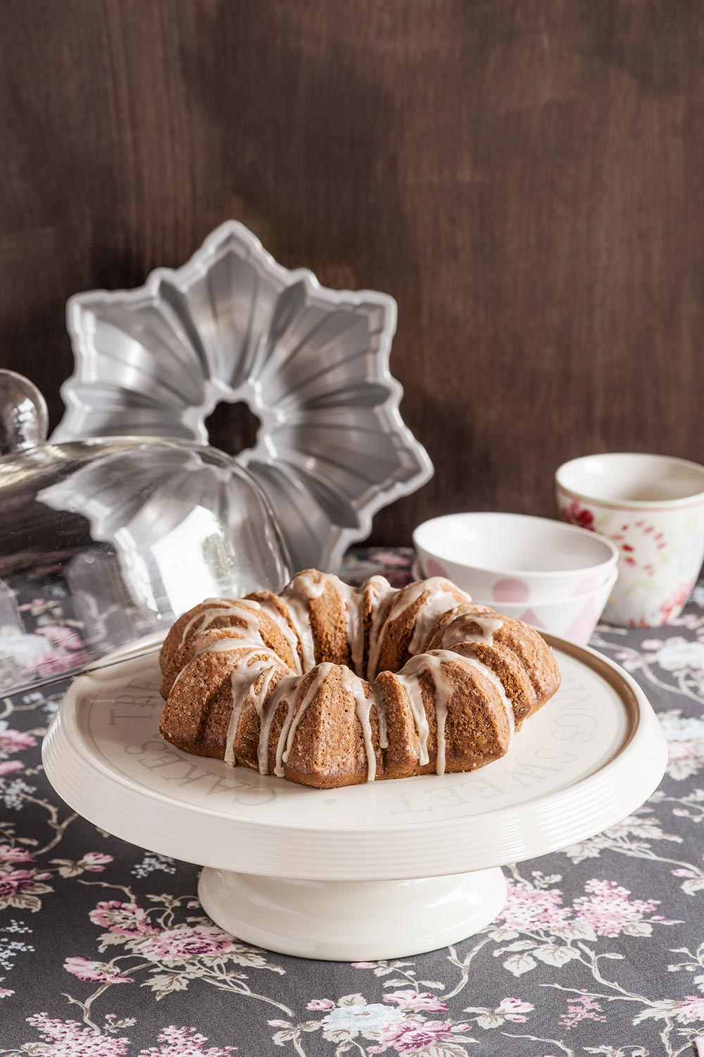 receta bundt cake cafe