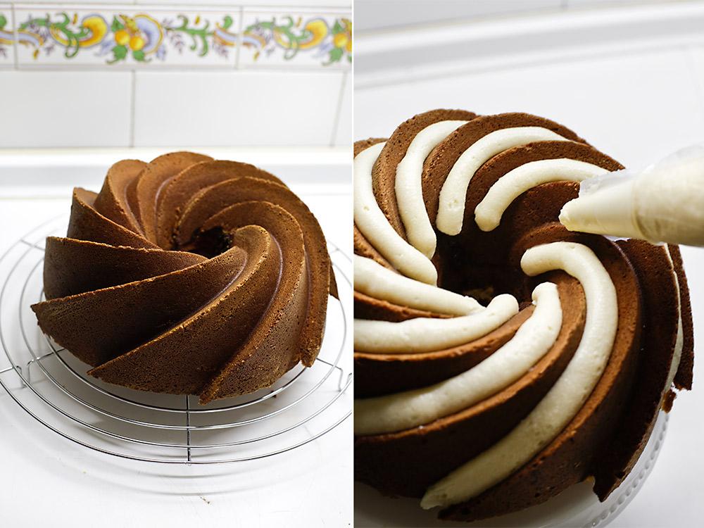 Receta bundt cake rollos de canela 7