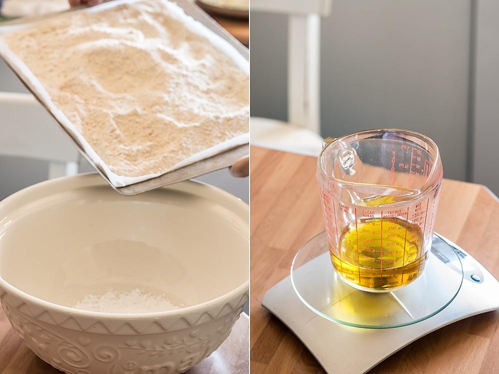 receta polvorones aceite