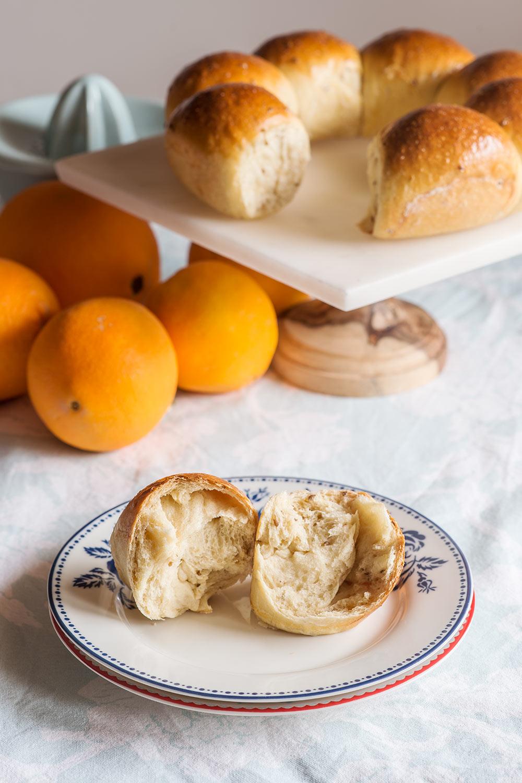 receta pan dulce naranja anis
