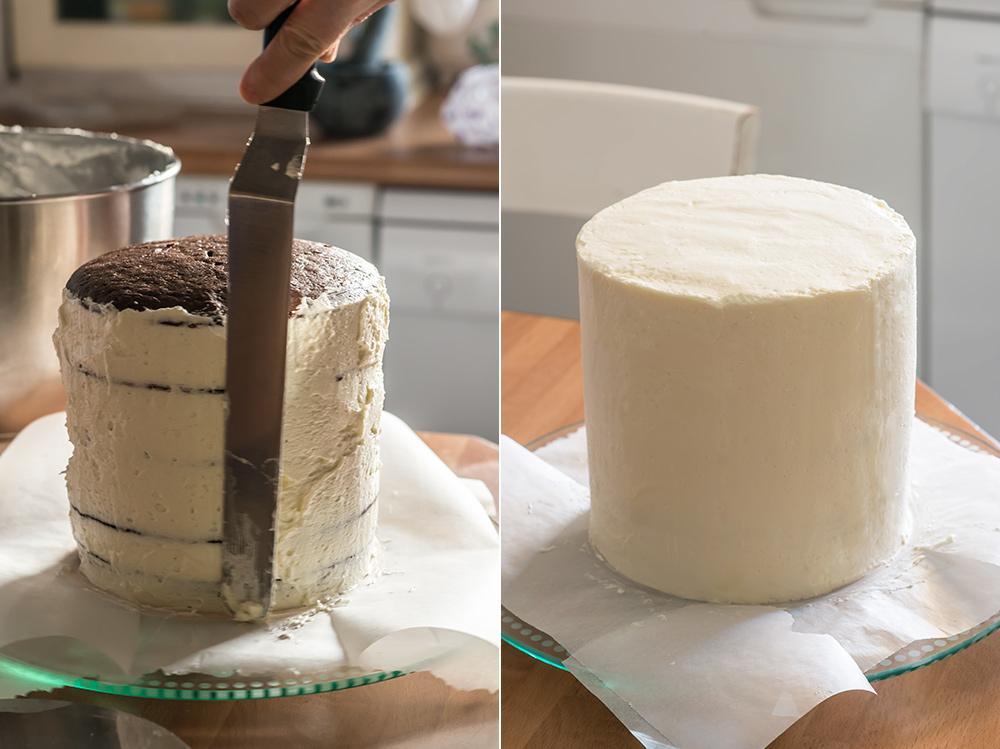 receta layer cake chocolate merengue