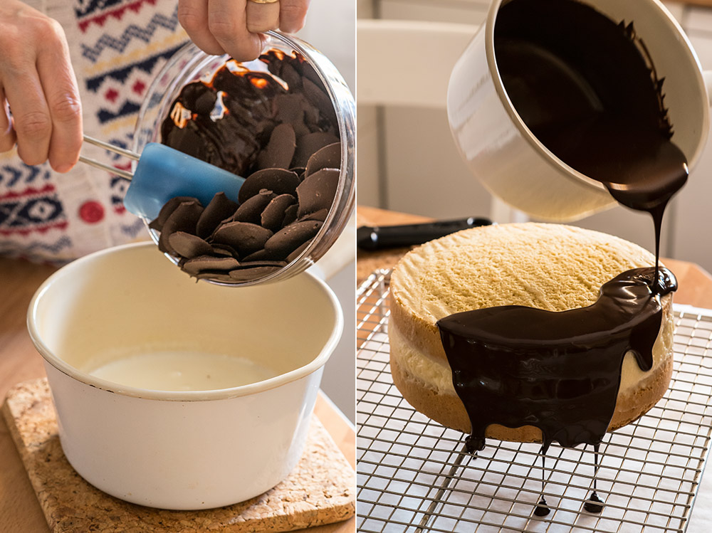 receta mona pascua chocolate crema
