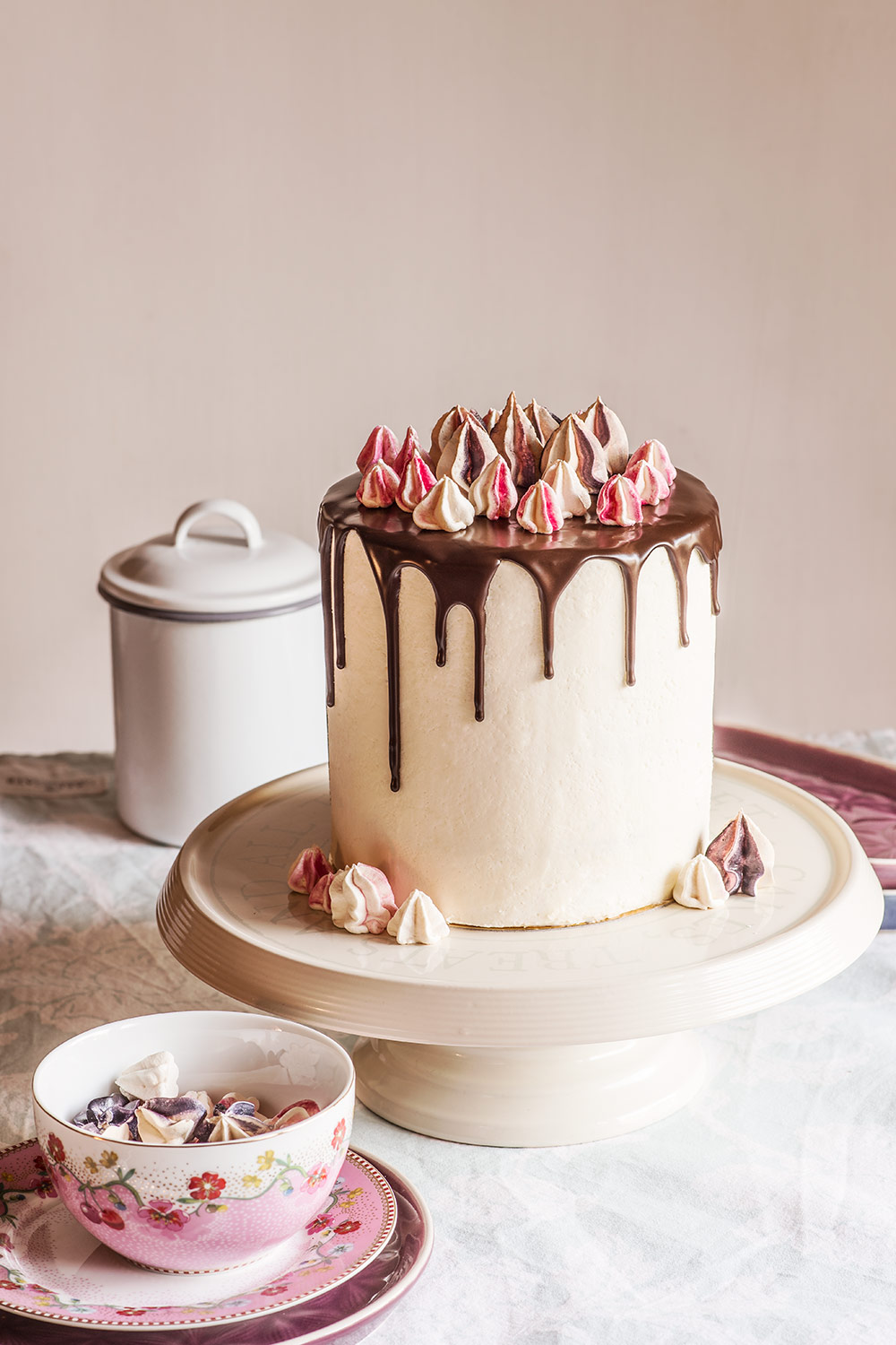 receta layer cake chocolate merengue