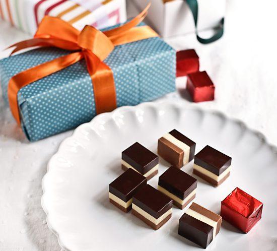 Receta bombones tres chocolates 1