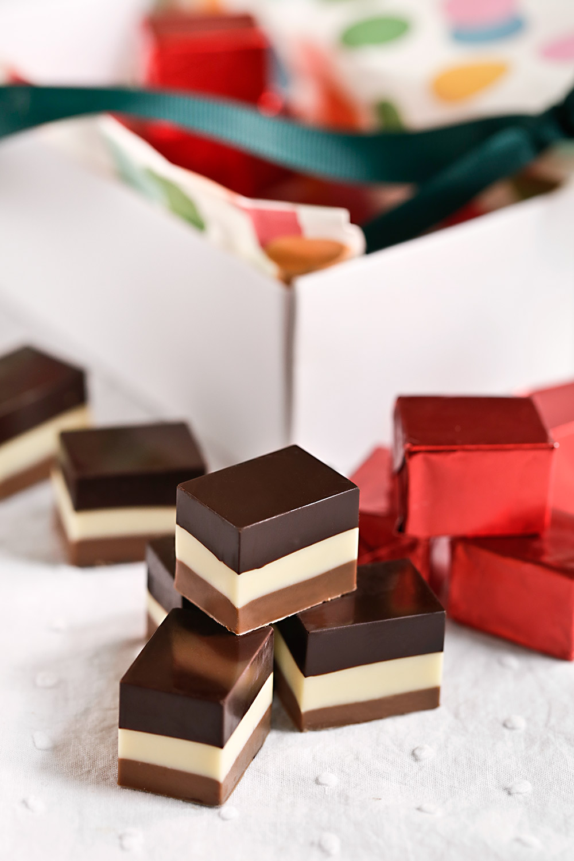 Receta bombones tres chocolates 2