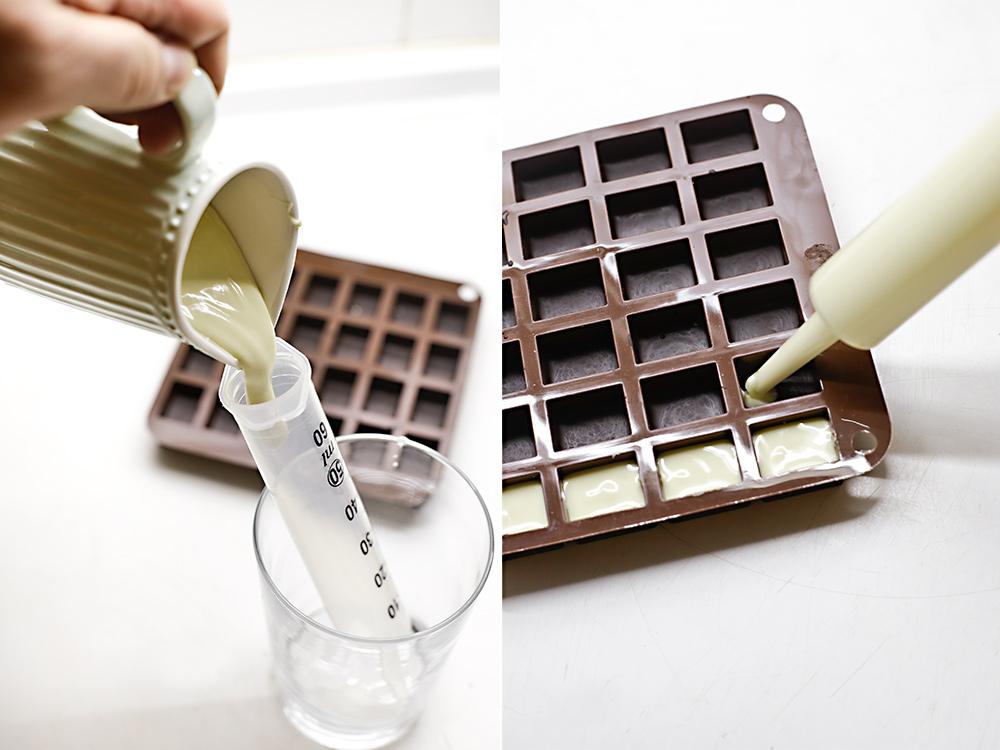 Receta bombones tres chocolates 4