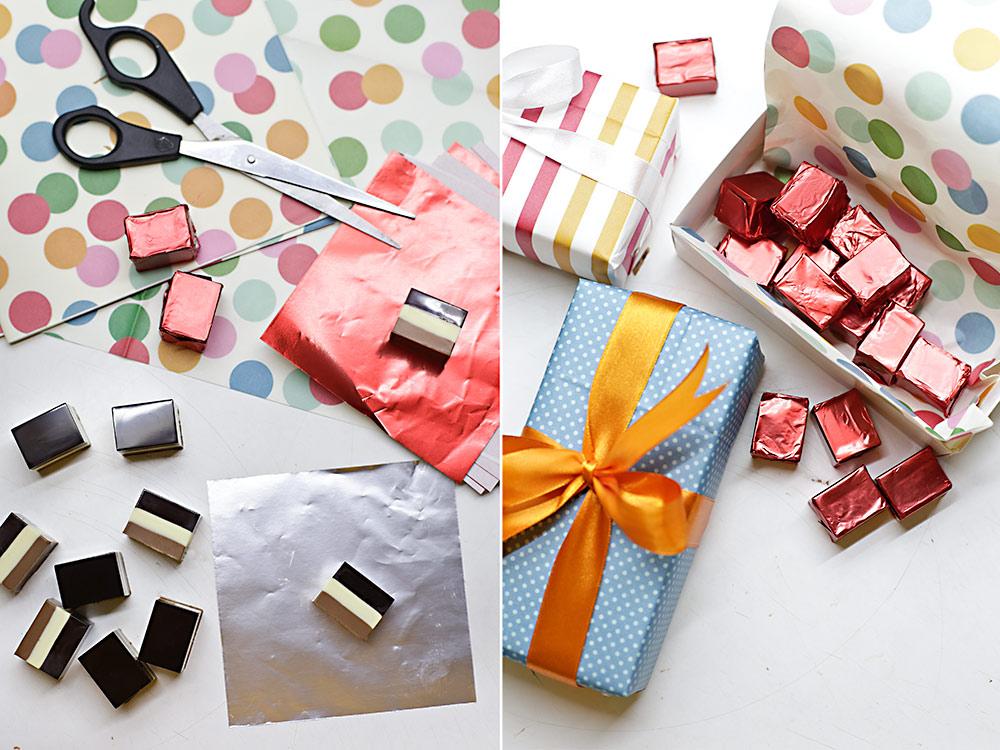 Receta bombones tres chocolates 6