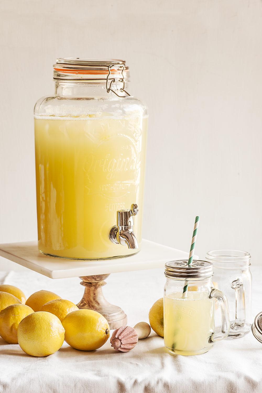 receta limonada clasica
