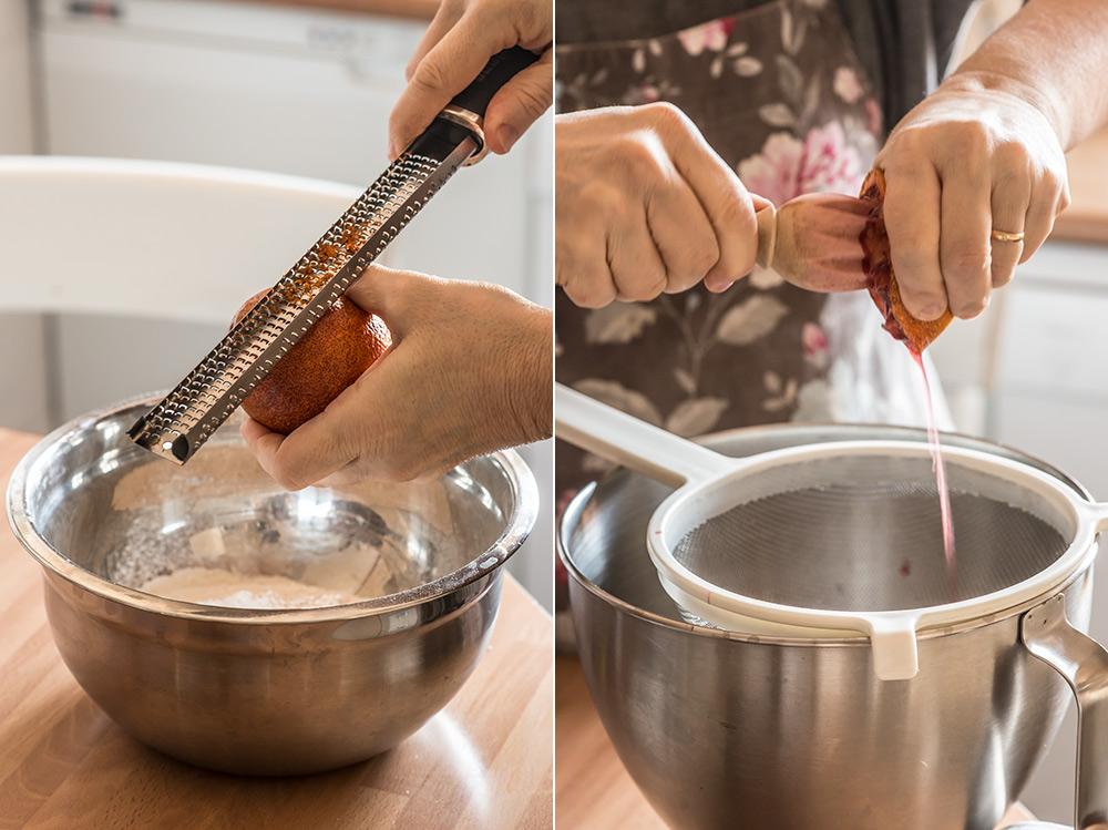 receta magdalenas naranja aceite