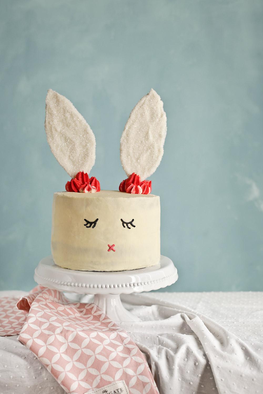 Receta tarta conejo de Pascua