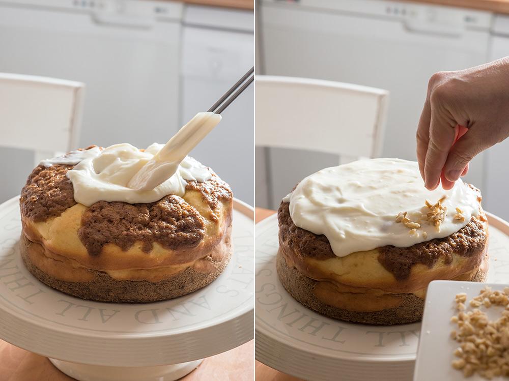 receta tarta queso zanahoria
