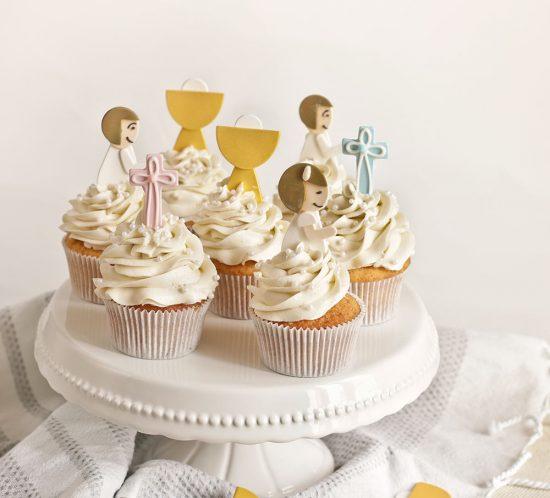 Receta cupcakes para Comuniones 1