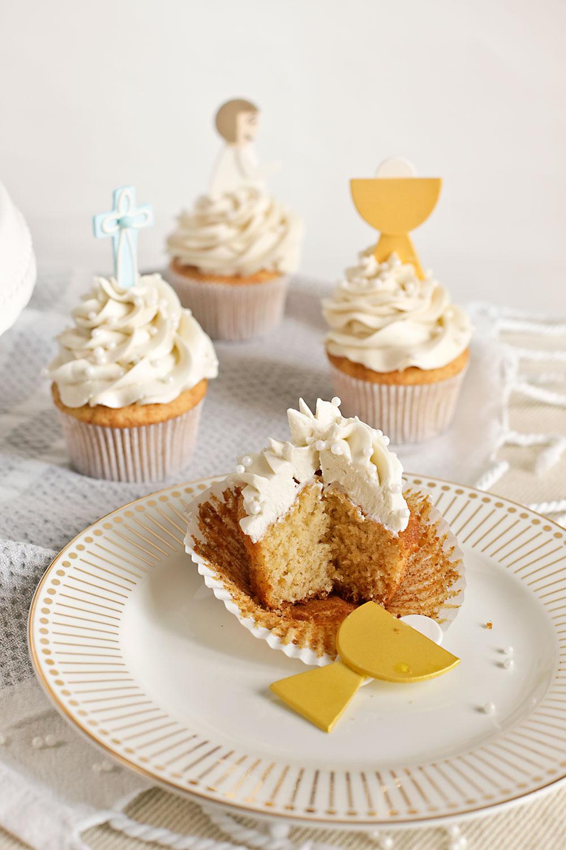 Receta cupcakes para Comuniones 2