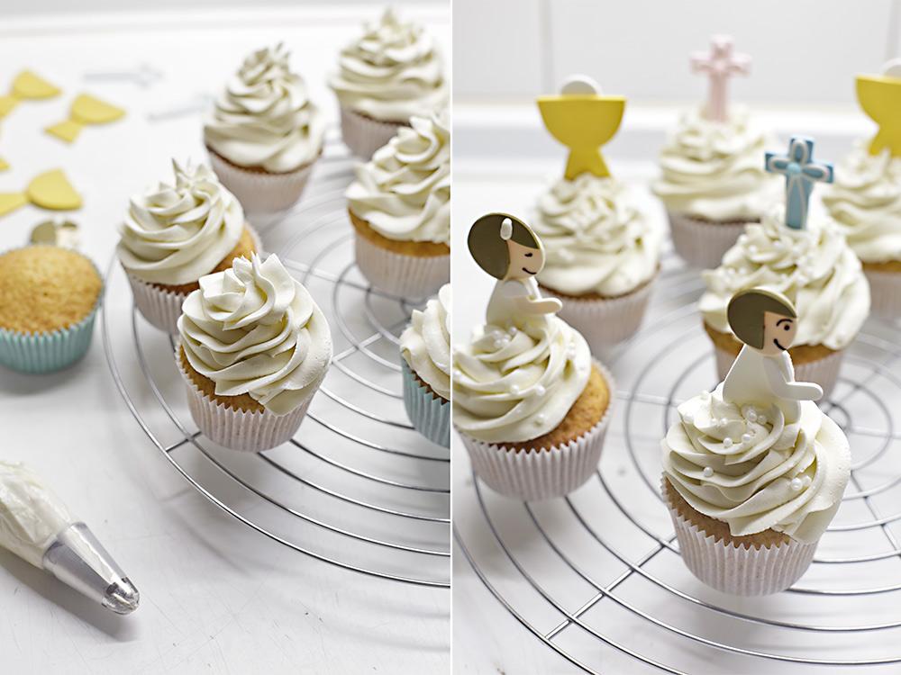 Receta cupcakes para Comuniones 7