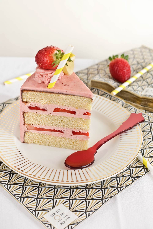 Receta layer cake de fresas y limón 2