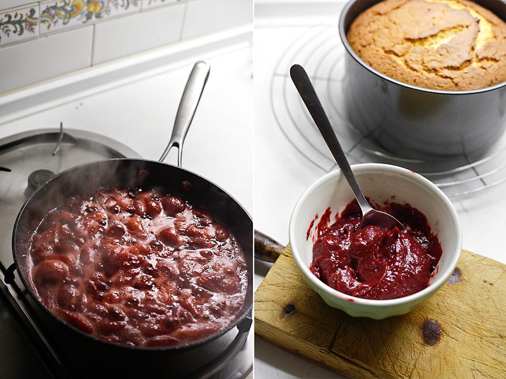 Receta layer cake de fresas y limón 6