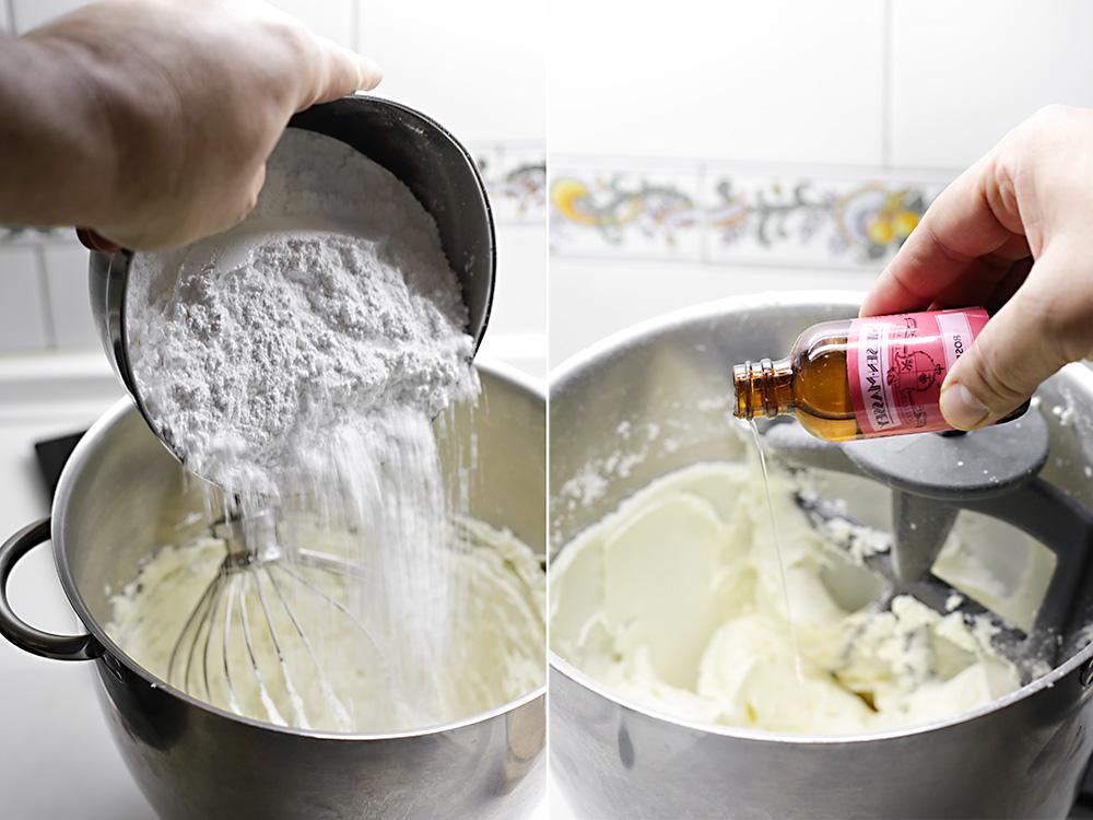 Receta layer cake de vainilla y agua de rosas 5