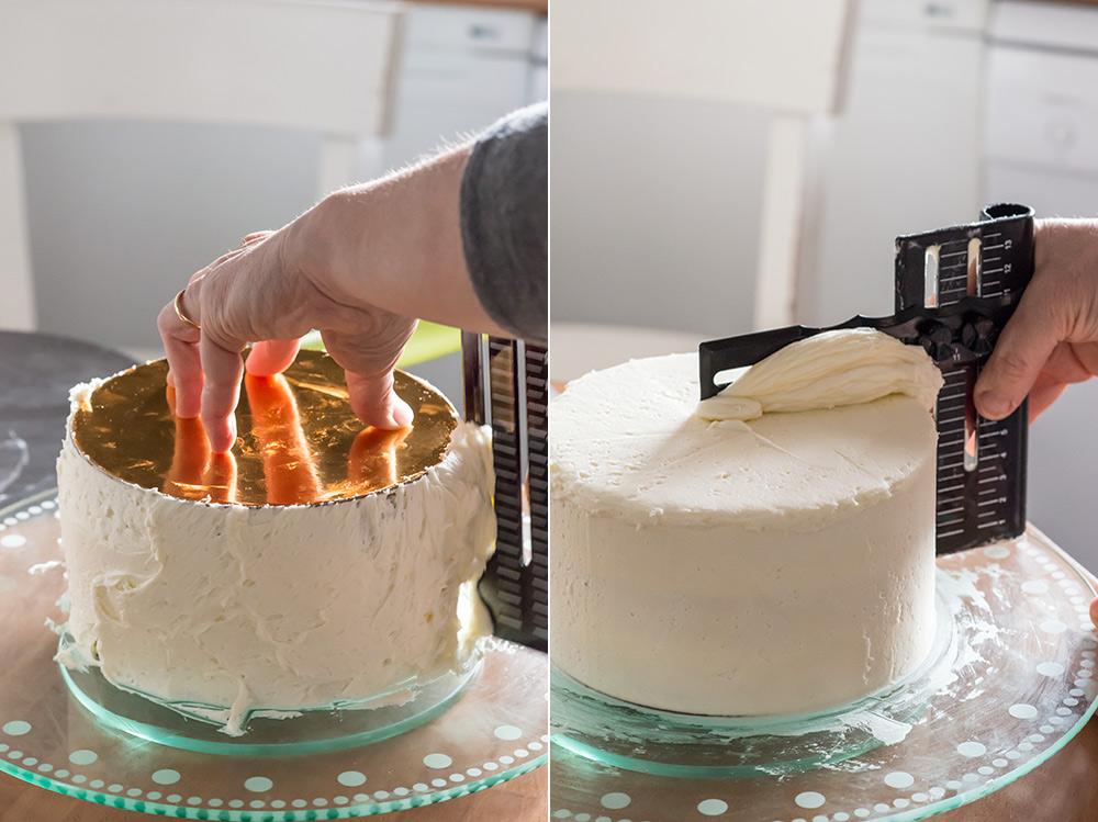 tarta macarons