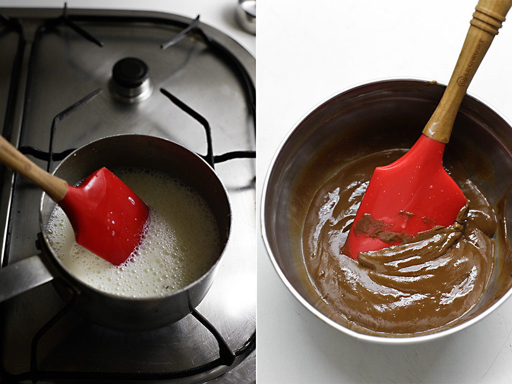 Receta lasaña de chocolate 4