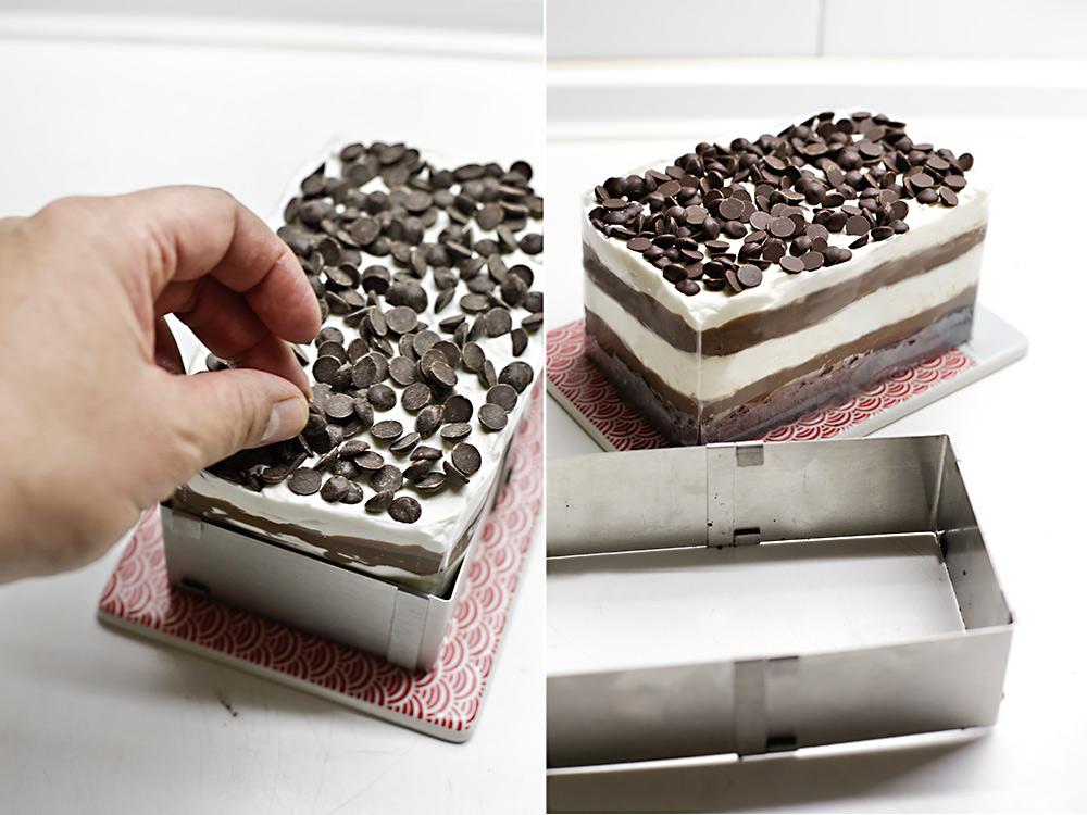 Receta lasaña de chocolate 6