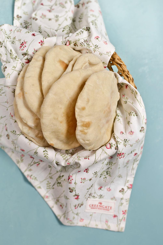 Receta de pan pita 1