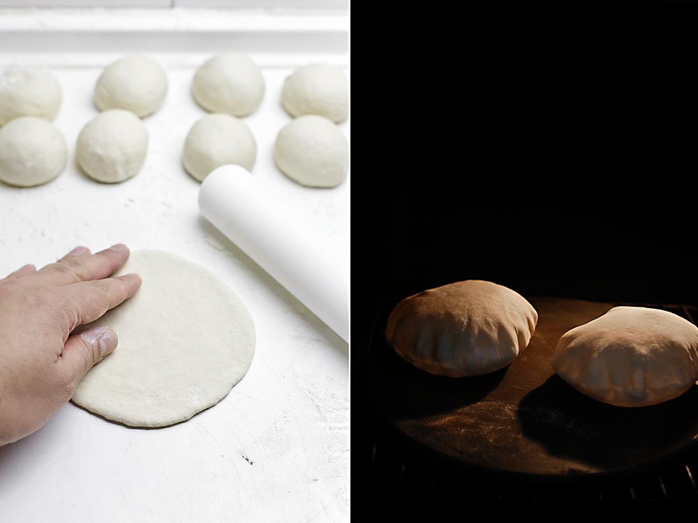 Receta de pan pita 6
