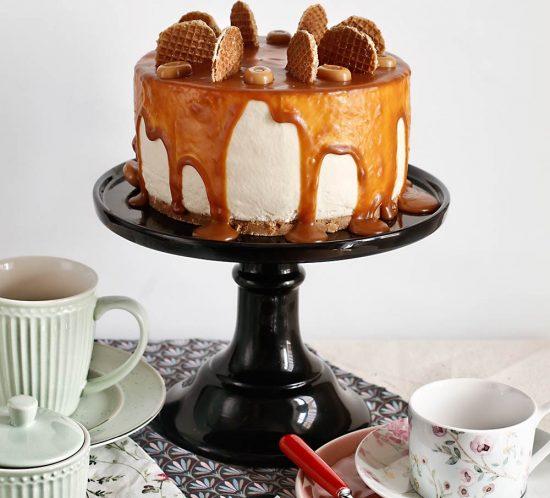 Receta tarta mousse de crema pastelera
