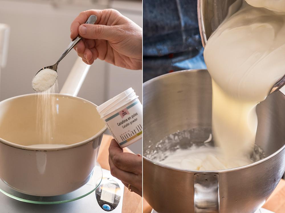receta cheesecake fresa bombones